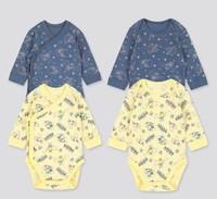 婴儿/新生儿 (UT) DPJ圆领连体装(长袖 2件装 哈衣 爬服)425752