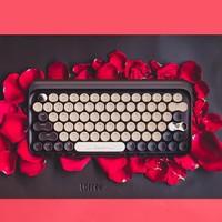 LOFREE 洛斐 EH112S 巧克力色蓝牙机械键盘 79键 茶轴