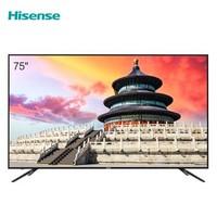Hisense/海信 75英寸4K高清AI声控平板电视75E3D