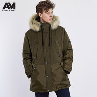 ANDREW MARC XFSM8AD481MNY 男士羽绒派克大衣