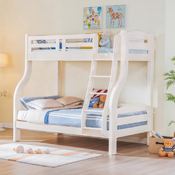 松堡王国 全实木儿童双层床  90*190cm