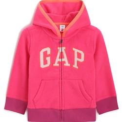 Gap 盖璞 幼儿 闪亮星星印花LOGO徽标连帽衫