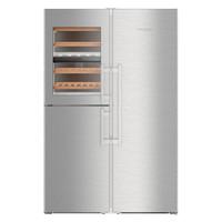 Liebherr 利勃海尔 SBSes8486 740升 专业酒柜 对开门冰箱
