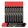 晨光(M&G)文具红色单头记号笔 油性马克笔 物流笔标记大头笔 10支/盒APMY2203 *7件