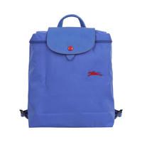LONGCHAMP 珑骧 女士LE PLIAGE系列蓝色织物可折叠双肩包 1699 619 P23 *2件