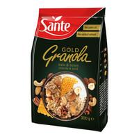 波兰进口 三特(sante)多坚果蜂蜜燕麦片 早餐冲饮麦片 300g *7件