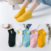 小鸭日系春夏船袜子