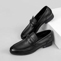 意尔康 小牛皮扣饰 浅口皮鞋 +凑单品