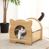 小兽星 多功能游乐猫头宠物床