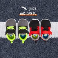 安踏童鞋小童3-6岁运动鞋春季新款男童网面软底魔术贴轻便跑步鞋 *4件
