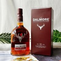 THE DALMORE 大摩 12年 苏格兰单一麦芽威士忌 700ml