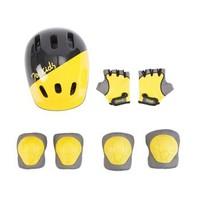 柒小佰 护具套装 护膝护肘护掌头盔7件套装 *3件