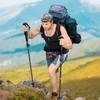 早风 五节碳纤维登山杖
