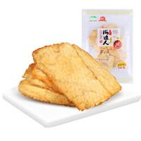 海边人 安康鱼片 袋装 烤鱼片即食鱼干海鲜零食休闲小吃青岛特产 85g*2 *5件