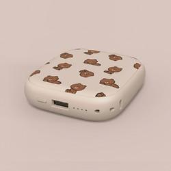 SOLOVE 素乐 LINE FRIENDS 无线充电宝 10000mAh 布朗熊
