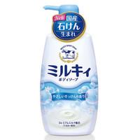 Cow 牛牌 石碱温和皂香沐浴露 550ml *5件