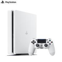 索尼(SONY)PS4 Slim PlayStation国行游戏机 500G主机(白色)