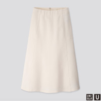 UNIQLO 优衣库 U系列 422487 女士针织喇叭裙