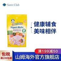 嘉宝 Gerber 婴幼儿辅食 酸奶小溶豆 28g 莓子味 宝宝零食 20年5月到期