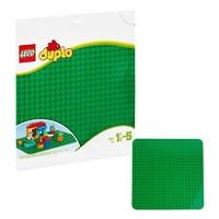 乐高(LEGO)积木儿童得宝系列创意拼砌板(绿色)2304