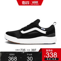 Vans范斯 运动休闲系列 UltraRange运动鞋 低帮男女透气官方 黑色VN0A3TKWY28 39