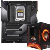 技嘉(GIGABYTE)TRX40 AORUS XTREME 大雕主板+AMD 锐龙Threadripper(线程撕裂者) 3990X 板U套装