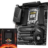 微星(MSI)TRX40 PRO WIFI AMD 锐龙Threadripper 3960X处理器板U套装/主板CPU套装