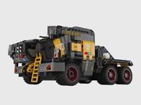 ONEBOT 流浪地球科技系列 CN373 斗式运载车标准版车头