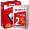 TOSHIBA 东芝 P300系列 64MB 7200RPM SATA3机械硬盘 2TB