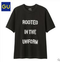GU 极优 317145 男士圆领T恤