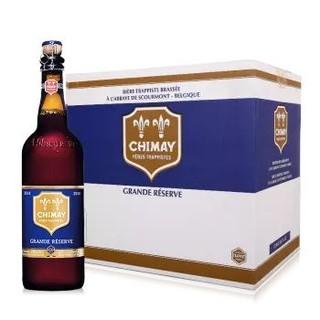 智美 蓝帽啤酒精酿 整箱 9度 750ml *2件
