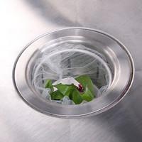 拜杰(Baijie)厨房水槽过滤网  洗菜池漏网 排水口防堵过滤网 2*100只装 CP-97