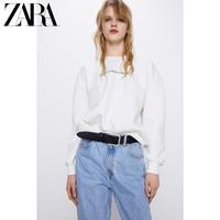 ZARA新款 TRF 女装 正面印字运动衫 04174310250
