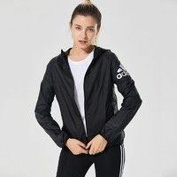Adidas 阿迪达斯 WB LOGO SUMMER女子薄款防风速干夹克 *2件