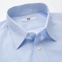 UNIQLO/优衣库  男装 DRY EASY CARE条纹衬衫(短袖) 414570