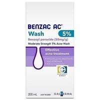 Benzac AC 5%温和控油去痘洁面液 200ml