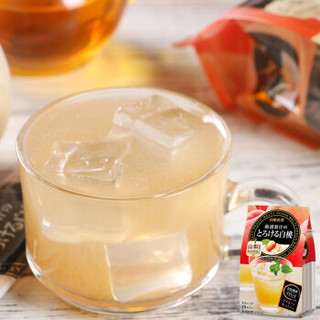 日本原装进口 日东红茶 白桃水蜜桃味速溶果味果汁饮料冲饮品 网红下午茶