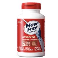 schiff 旭福 Movefree 维骨力 氨糖软骨素片 红瓶 170粒/瓶