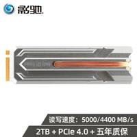 影驰 HOF Pro 1TB/2TB m.2固态硬盘pcie4.0固态硬盘台式机SSD 2TB固态硬盘 读写5000/4400