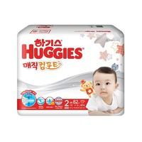 HUGGIES 好奇 魔法纸尿裤 S号 82片 尿不湿 *2件