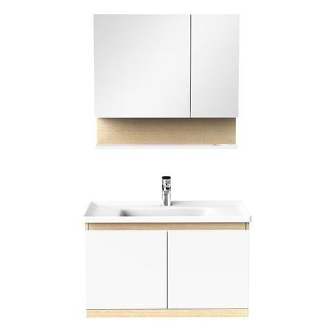 JOMOO 九牧 A2259-139I-1 北欧风实木浴室柜组合 80cm