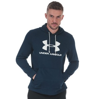 UNDER ARMOUR 安德玛 Sportstyle Terry 男士运动卫衣/套头衫  海军蓝 XXXL