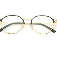 HAN 汉 套镜 (1.5防蓝光近视眼镜+镜框) HN41036 黑金