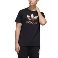 adidas 阿迪達斯 三葉草系列服 男士短袖T恤 GH7777 黑色 M