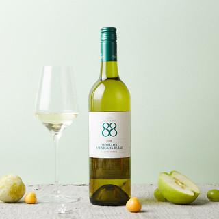 首彩88经典苏维翁干白葡萄酒750ml *2件