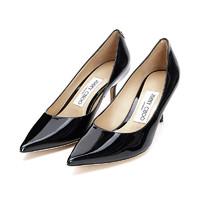 20春夏新款JimmyChoo/周仰杰女士LOVE65PWJ系列牛皮尖頭高跟鞋