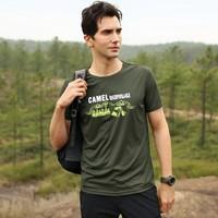CAMEL 骆驼 A8S222161 情侣款短袖T恤