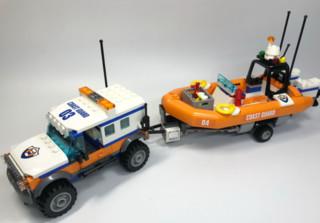 乐高城市系列60165四驱动力应急中心