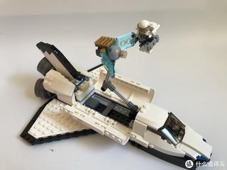乐高三合一31066航天飞机探险家