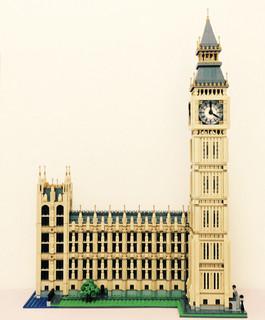 魅力的城市地标乐高10253大笨钟